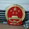 四川省警徽厂家 重庆市国徽制作 背景墙国徽门头警徽定制