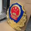200厘米贴金翻砂工艺警徽销售-武汉市警徽制作点