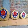 2.5米消防救援队徽制作-生产消防徽厂家