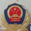 精致镀金警徽制作-烤漆工艺-警徽生产厂家
