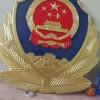 机关大院悬挂警徽生产销售_贴金金箔定制-上好油漆静电喷漆加工