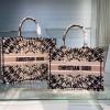原单Christian Dior购物袋Dior马鞍包PK正品