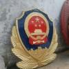 铸铝警徽出售-浇筑3米警徽定制-彩色警徽定做