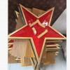 镂空式大型悬挂军徽定做-定制五角星八一军徽