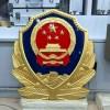 铝合金材质警徽定做-生产烤漆城管徽