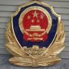 上海定制警徽工厂 优质岗亭警徽批发 生产门头贴金警徽厂家
