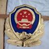 辽宁警徽厂家 生产大型铸铝2米警徽工厂 门头公安警徽定做