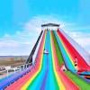 彩虹滑梯 七彩网红滑道 款式多样旱雪滑道游乐设备