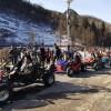雪地游乐设施 雪地卡丁车飞一般的感觉 四轮卡丁车