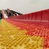 大型户外游乐 彩虹滑梯免费安装指导 新材质新工艺七彩滑道价格