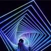 灯光造型 时光隧道灯光造型 灯光造型设计制作一条龙