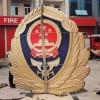 消防徽制作-检察院徽章定制-湖北省做徽章厂家