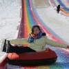 彩虹滑道 震撼来袭环保无污染 网红旱雪滑道价格
