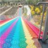 彩虹滑道有眼光 四季可运营 景区网红项目七彩滑道